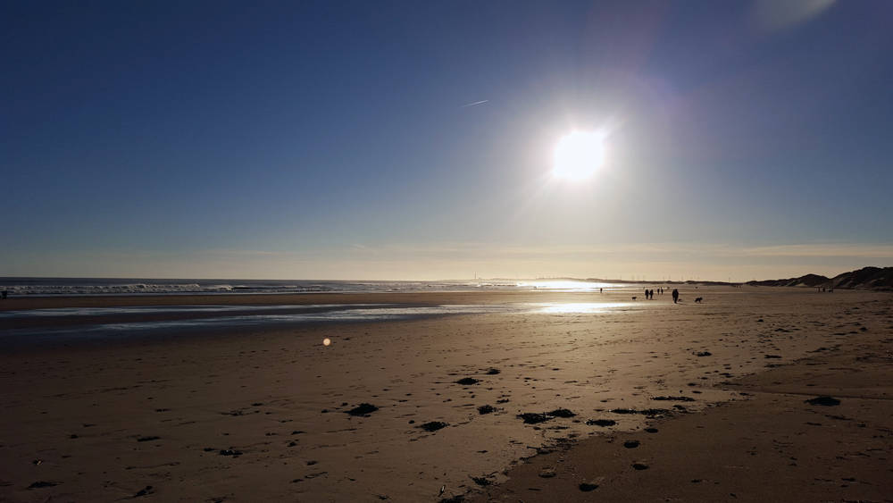 Walk here: Druridge Bay to Amble, Northumberland.