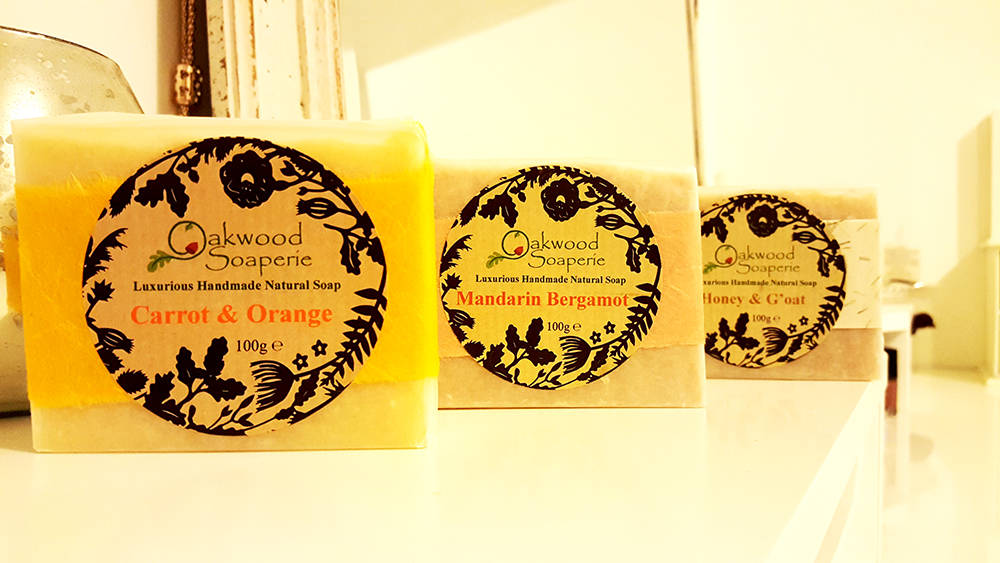 Handmade soap from Northumbria