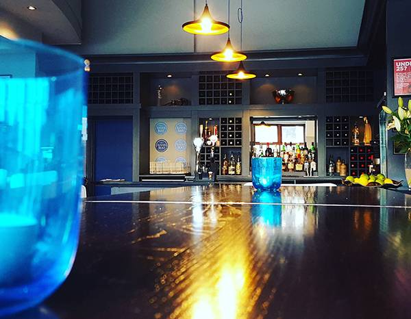 Calming and blue River Tapas