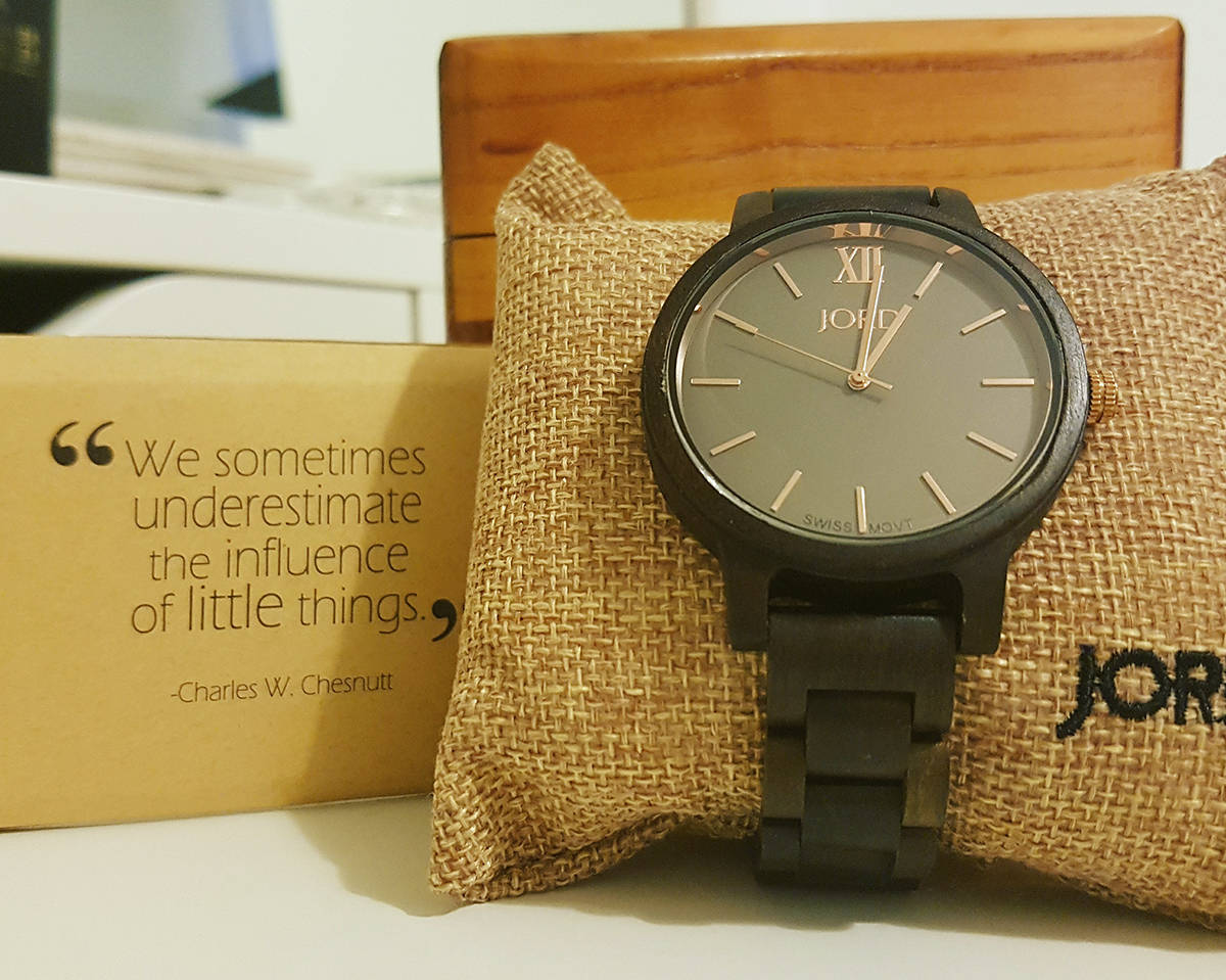 Jord watch and gift box
