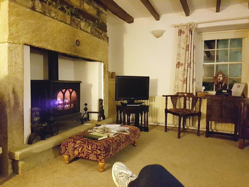Yew Tree Cottage lounge