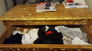 knicker drawer at first